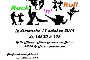 Stage de Rock avec l'AIL-Gym-Danse le 19 Octobre 2014