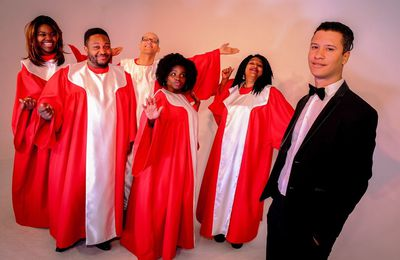 '' THE JOY OF GOSPEL '' ...par  UNITED GOSPEL CHOIR...CE SAMEDI SOIR...à BERCK...