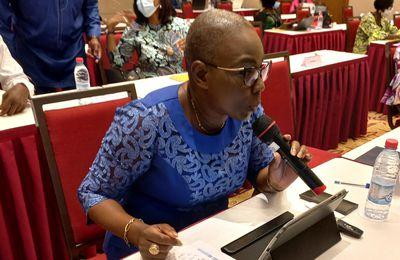 🔴 Séminaire sur le leadership politique des Femmes: Christhelle HOUNDONOUGBO ALIOZA séduit par la qualité de sa communication