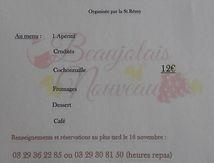 Soirée beaujolais avec la Saint Rémi