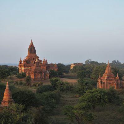 La lumière de Bagan, Birmanie.