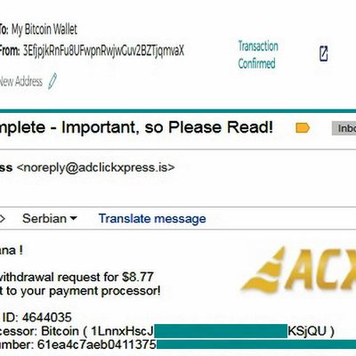 My No55 Withdrawal proof from AdClickXpressCrypto
