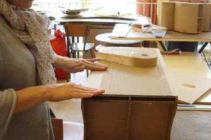 Cours meubles en carton : avril-juin 2010