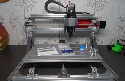 Assemblage et test d'une fraiseuse Alfawise C10 (zone de travail 30*18*4cm) CNC/laser