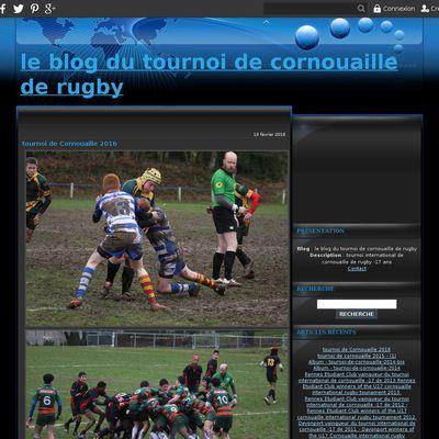 le blog du tournoi de cornouaille de rugby