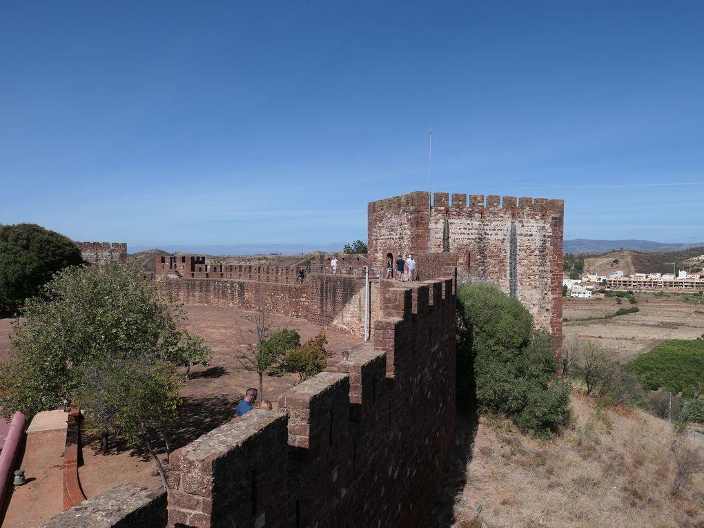 Le château de Silves en Algarve.