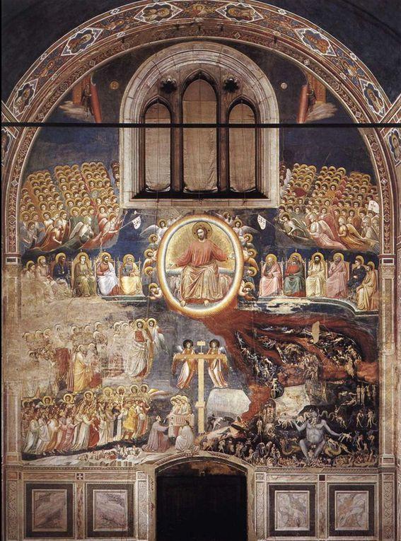 Giotto, Le jugement dernier © Internet