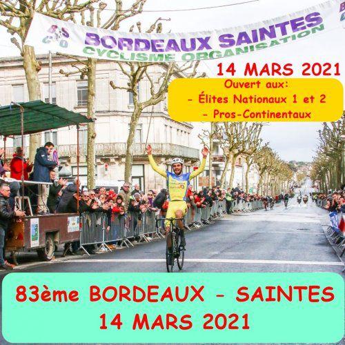 Bientôt le 83ème Bordeaux-Saintes