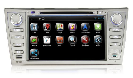 Pumpkin Pure Android 4.4 Car stereo  For Toyota Camry 2007-2011