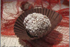 Bouchées au chocolat aux noisettes & coco