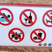 Plages interdites ! - Parce qu'un dessin est plus efficace...etc... (20-05) - Noy et Gilbert en Thaïlande