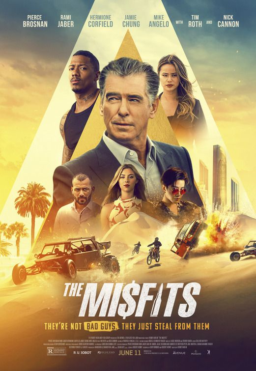 THE MISFITS (BANDE-ANNONCE) avec Pierce Brosnan, Jamie Chung, Tim Roth