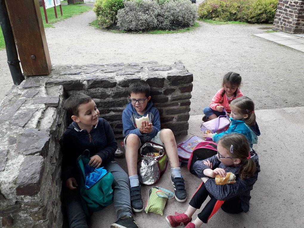 Sortie scolaire à  Broceliande
