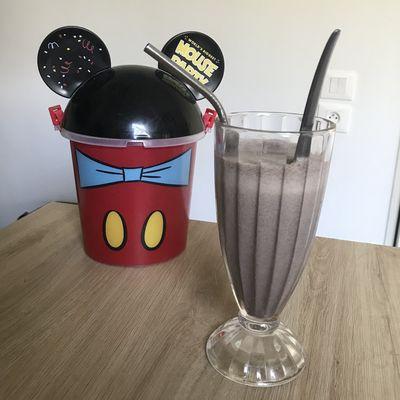 Recette Disney : le Milkshake Oreo Cookie du restaurant Sci-Fi Dine-In (Walt Disney World)