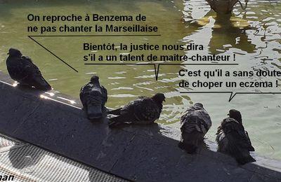 "Benzema : ""laissez moi chanter !"""