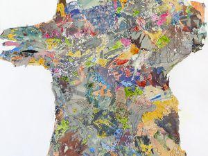 Peinture et collage, et dessin, de Catherine Maisse