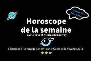 Podcast de l'horoscope gratuit de votre semaine du 25 au 31 janvier 2021 par un voyant et médium de renom