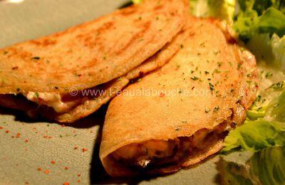 Délices au Fromage, Jambon, Lard & Champignons