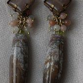 Boucles d'oreille clip. Créateur de bijoux Paris. - simonedavraybijoux.com