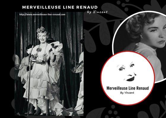 PHOTOS: Line Renaud au Casino De Paris 1959