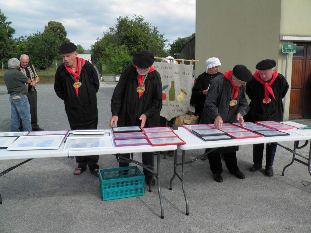 Remise des prix du concours cidricole le 6 juillet 2014 à Gesvres