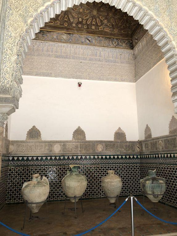 l'Alcazar palais fortifié et les jardins