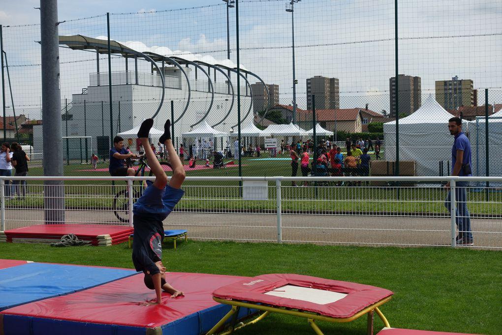 Il y en avait pour tous les goûts lors de la 8e édition de la Fête du sport et de la jeunesse