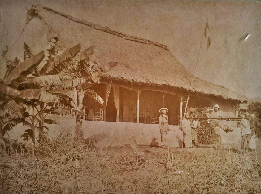 Administrateur colonial à Mayotte, fin XIXème siècle.