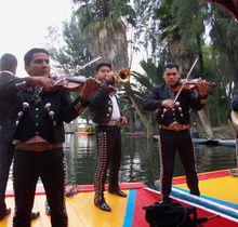 Viaje en Mexico.... Paseo en trajineras a Xochimilco.