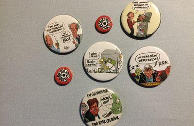 Baud. Un badge satirique qui ne plaît pas à la députée Nicole Le Peih…