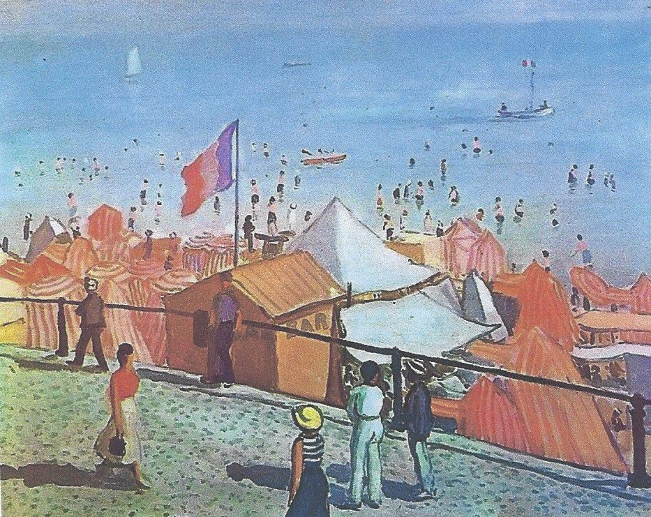 COPIE DE L'ORIGINAL DE L'OEUVRE D'ALBERT MARQUET