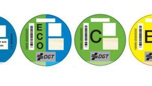 Las etiquetas de Tráfico que vas a necesitar para circular por Madrid