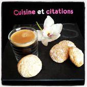 Mes petits amarettis amandes noisettes... Il faut savoir innover en cuisine ! - Le blog de cuisineetcitations-leblog