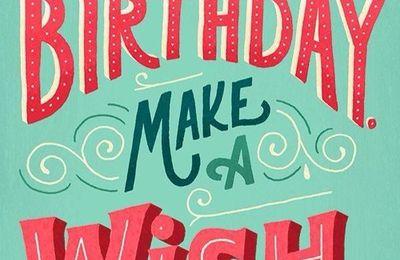 MY BLOG'S BIRTHDAY !