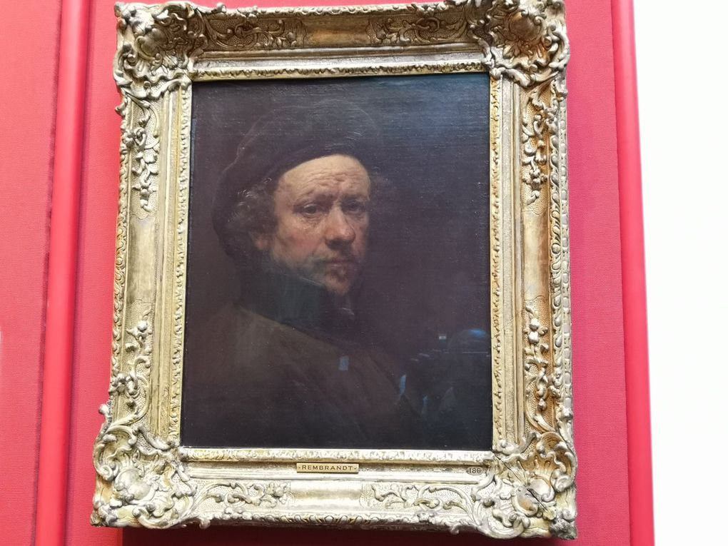 Rembrandt van Rijn, Self-Portrait , 165(7?), Oil on canvas