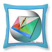 Shot Shift - Matriarche Variant Throw Pillow for Sale by Michael Bellon