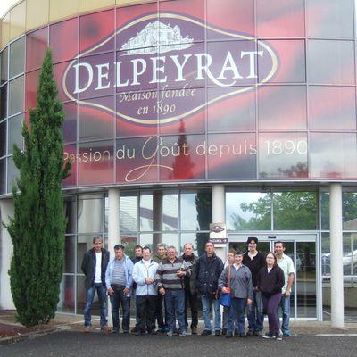 Visite de la conserverie Delpeyrat