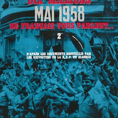 UN CERTAIN 13 MAI 1958 et la suite