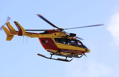 Col du Portillon : un motard grièvement blessé après une chute d'une dizaine de mètres