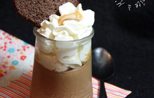 Crème Express Caramélia, Chantilly, Tuile Cacao