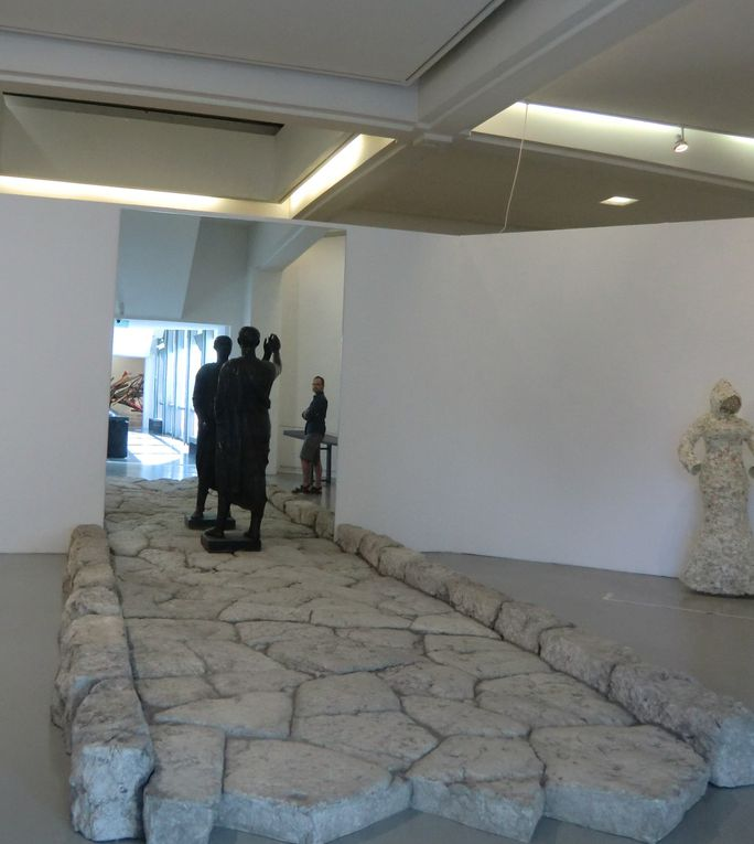 La descendance Matisse à l'occasion d'une exposition temporaire de l'été 2013