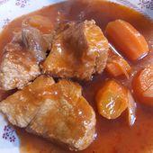 Sauté de porc aux carottes à la cocotte minute - La Machine à Explorer