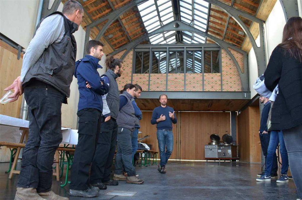 Journée de préparations biodynamiques au Château Ferrière à Margaux