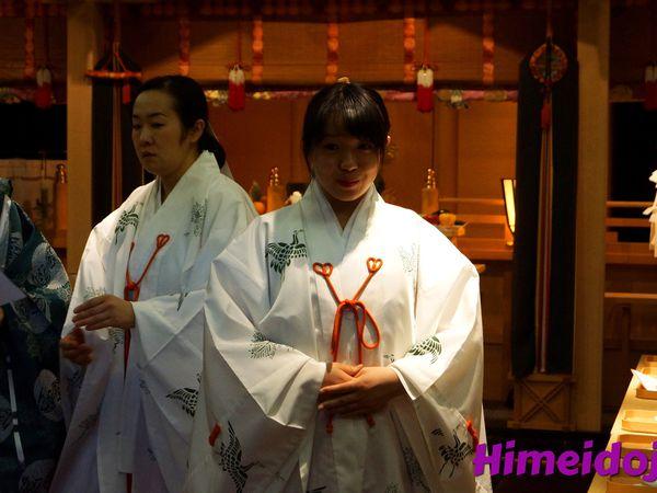 La cérémonie Shinto