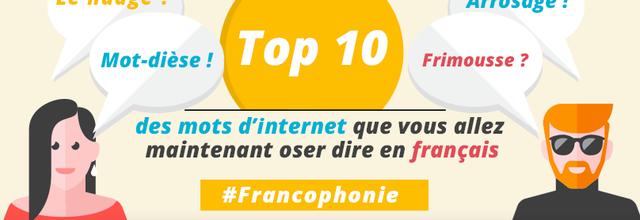 Internet : mots francisés