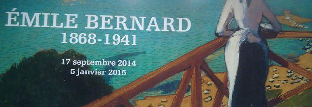 Visite de l'Orangerie, expo Emile BERNARD et nouvel accrochage