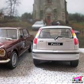 FIAT PUNTO GRIS METALLISE CARARAMA 1:43 - car-collector.net