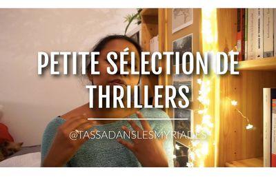 Hey ! Nouvelle vidéo sur ma chaîne Youtube : Petite sélection de Thrillers à vous glacer le sang !