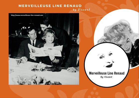 PHOTOS: Line Renaud et Jacques Charron 1961