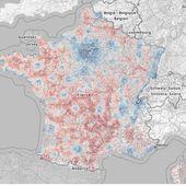 La carte de France des revenus fiscaux - Chroniques Cartographiques